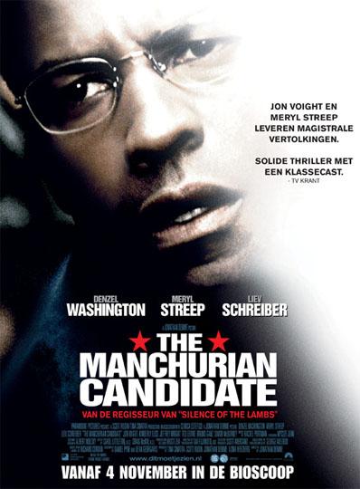 Filmposter Manchurian Candidate