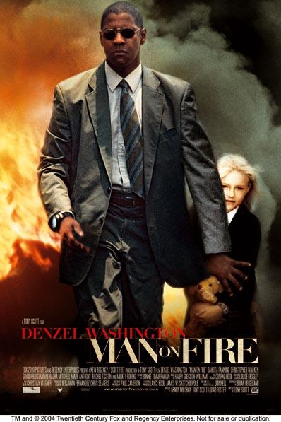 Filmposter Man On Fire