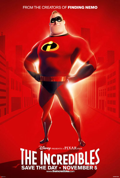 Filmposter The Incredibles