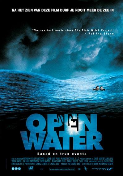 Filmposter Open Water