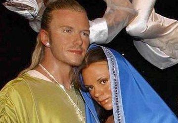 Kerkleiders boos over Jozef en Maria Beckham