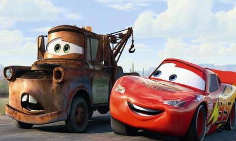Filmposter Cars