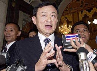 Thaksin Shinawatra, premier van Thailand
