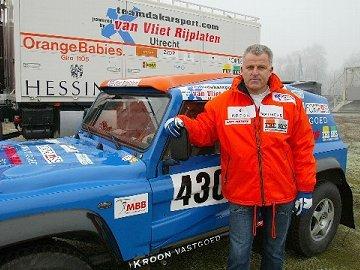Peter R. de Vries in de Dakar Rally