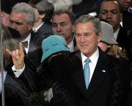 Hallo Duivel, dit is Bush