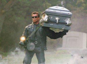 Arnold Schwarzenegger in \'Terminator 3: Rise of the machines\'