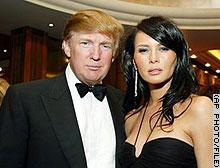 Trump en Melania, echt liefde!!!!