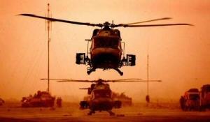 Een Lynx-helikopter op archiefbeeld