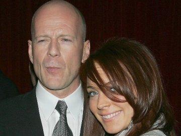 Bruce Willis en Lindsay Lohan