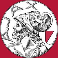 Het oude logo van Ajax