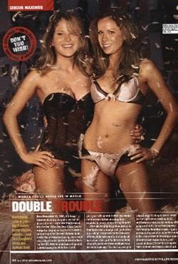 Bush Twins \'pikant\' in Maxim
