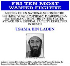 Osama is nog altijd op de vlucht