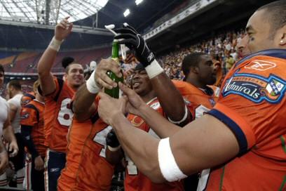 Amsterdam Admirals bereiken de finale van de World Bowl
