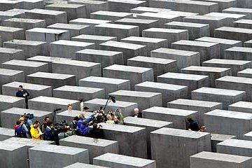 Holocaust gedenkteken Berlijn