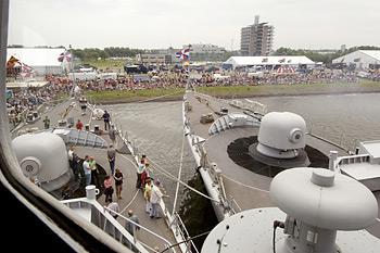 Nationale Vlootdagen 2005 in Den Helder