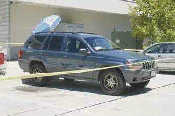 De auto met de lijken werd aangetroffen op een parkeerplaats