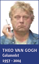 Theo van Gogh in Metro