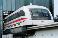 Een Duitse MagLev-trein