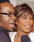 Whitney Houston en Bobby Brown