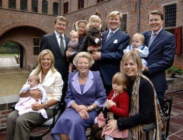 Beatrix en haar familie