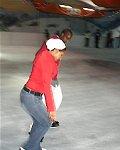 Schaatsbaan in Kenia