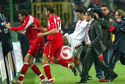 Turkije-Zwitserland