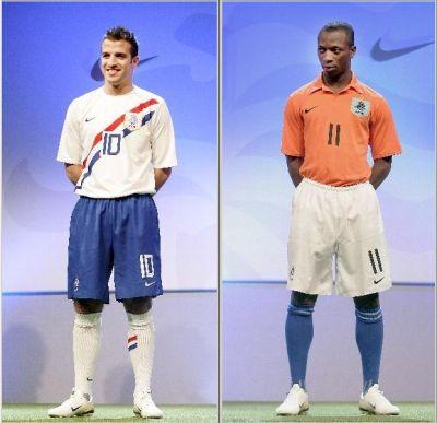 Nieuwe shirts Nederlands elftal, Nike