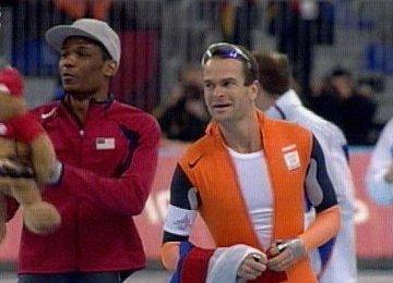 Goud en brons 1000 meter Torino