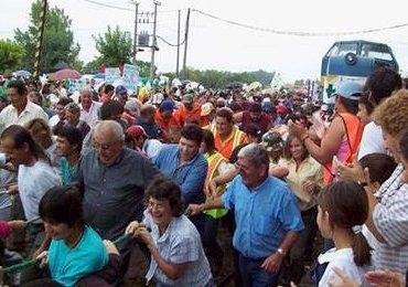 Uruguayanen komen om bij trekken trein