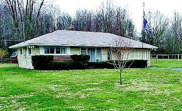 De woning van de 66-jarige alleenstaande Charles Martin