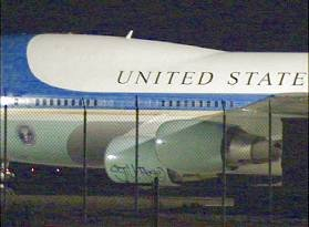 Nep Air Force One getagt