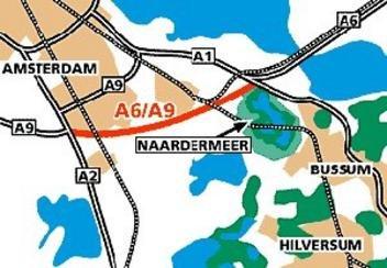 Verbindingsweg A6 naar A9