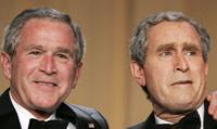 Bush en dubbelganger
