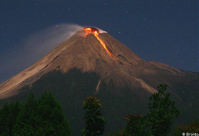 Merapi-vulkaan