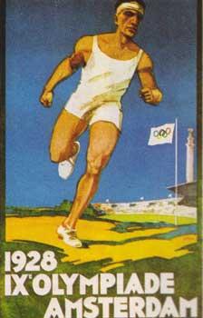 Poster Amsterdam 1928