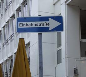 Einbahbstraße