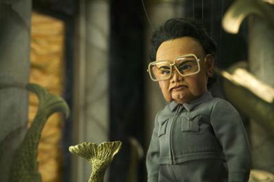 De Noord-Koreaanse leider Kim Jong-il