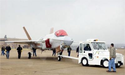 Lockheed Martin test het prototype van de Lightning II