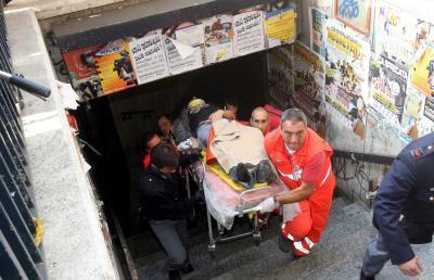 Botsing metro Rome