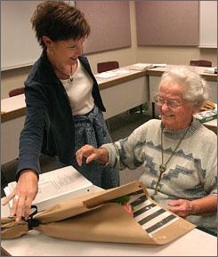 Nola Ochs, een 95-jarige student
