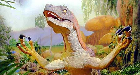 Afbeelding van een velociraptor
