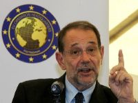 Javier Solana, buitenlandcoördinator van de EU