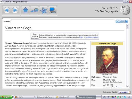 Wikipedia on DVD