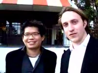 Steve Chen en Chad Hurley