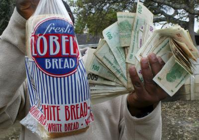 Inflatie Zimbabwe