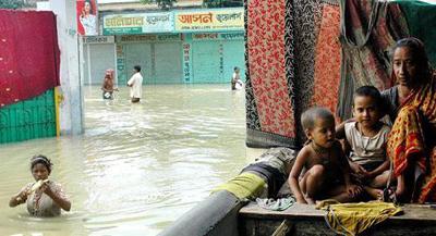 Overstroming Bangladesh