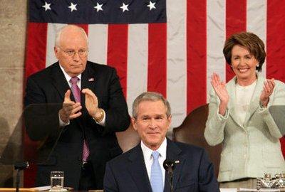 Cheney en Bush