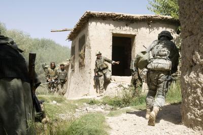Militairen in actie