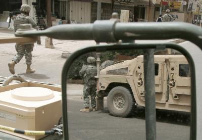 Soldaten VS in Irak