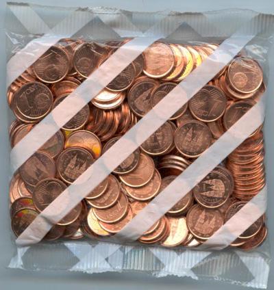 1 Eurocent zak